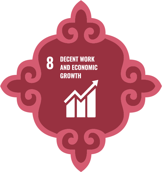 Decent jobs and economic growth - Goal 8