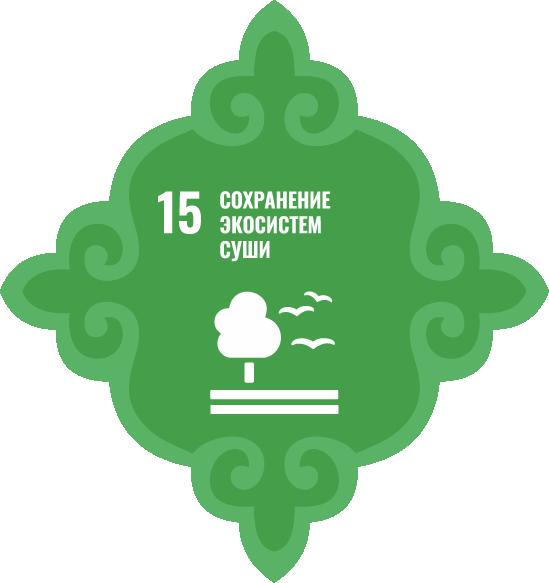 Сохранение экосистем суши - Цель 15