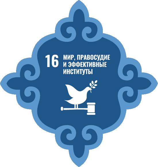 Мир, правосудие и эффективные институты - Цель 16